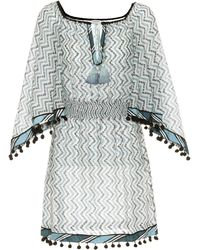 Talitha - Cotton And Silk Cover-up - Lyst