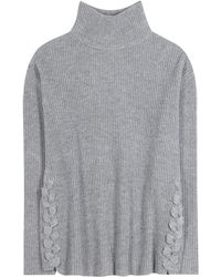 Jardin Des Orangers - Virgin Wool And Cashmere Turtleneck Jumper - Lyst