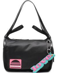 Marc Jacobs - Leather-trimmed Shoulder Bag - Lyst