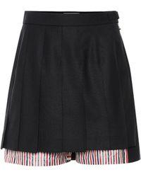 Thom Browne - Shorts de lana y algodón - Lyst