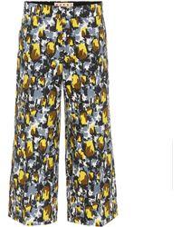 Marni - Pantalones cropped de algodón - Lyst