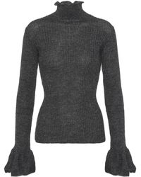 Acne Studios - Raine Alpaca-blend Sweater - Lyst