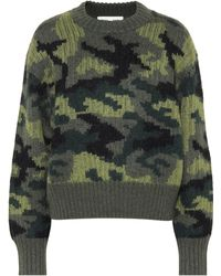 Proenza Schouler - Pswl Camouflage Wool-blend Sweater - Lyst