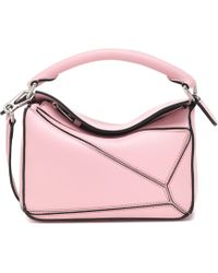 Loewe - Puzzle Mini Leather Shoulder Bag - Lyst