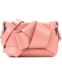 Acne Studios - Musubi Leather Handbag - Lyst