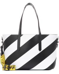 Off-White c/o Virgil Abloh - Diag Leather Tote - Lyst