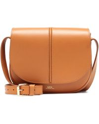 A.P.C. - Betty Leather Crossbody Bag - Lyst