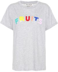 Être Cécile | Fruits Cotton T-shirt | Lyst