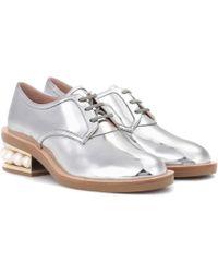 Nicholas Kirkwood - Casati Pearl Leather Derby Shoes - Lyst