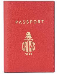 Mark Cross - Custodia per passaporto in pelle - Lyst