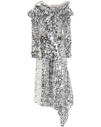 Preen By Thornton Bregazzi - Jodie Sequined Dress - Lyst