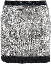 Tom Ford - Embellished Silk Skirt - Lyst