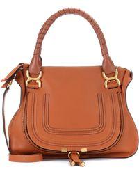 Chloé - Marcie Medium Leather Shoulder Bag - Lyst