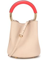Marni - Pannier Small Leather Tote - Lyst