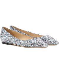 Jimmy Choo - Romy Ballerina Shoes - Lyst