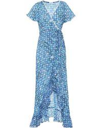 Poupette - Joe Printed Cotton Dress - Lyst