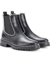Alexander Wang - Verzierte Ankle Boots - Lyst