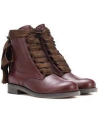 Chloé - Harper Leather Ankle Boots - Lyst