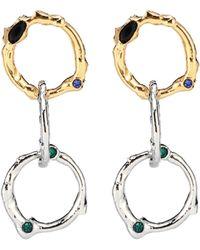Marni - Boucles d'oreilles à cristaux - Lyst
