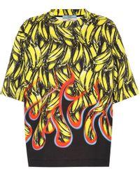 Prada - Exclusive To Mytheresa – Cotton-blend T-shirt - Lyst