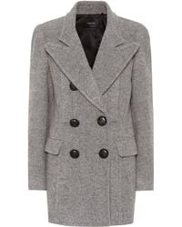 Isabel Marant - Elea Double-breasted Wool Coat - Lyst