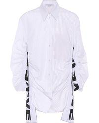 Stella McCartney - Zoe All Is Love Cotton-blend Shirt - Lyst