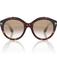 Tom Ford - Rosanna Round Sunglasses - Lyst