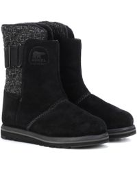 Sorel - Rylee Suede Ankle Boots - Lyst