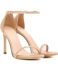 Stuart Weitzman - Exclusive To Mytheresa.com – Nudistsong Patent Leather Sandals - Lyst