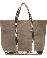 Vanessa Bruno - Cabas Medium Linen Shopper - Lyst