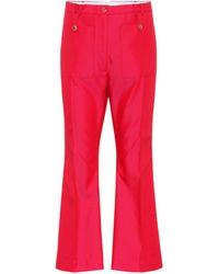 Golden Goose Deluxe Brand - Pantalones de sarga Selene - Lyst