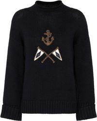 Polo Ralph Lauren - Crest Logo Wool Sweater - Lyst
