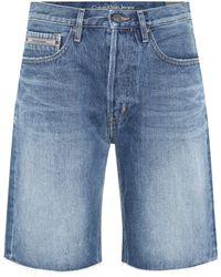 Calvin Klein - Denim Shorts - Lyst