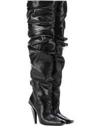 Tom Ford - Over-the-knee Leather Boots - Lyst