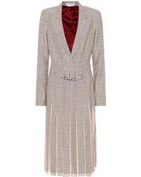 Gabriela Hearst - Narcisa Checked Stretch-wool Dress - Lyst
