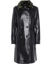 Shrimps - Sinclair Faux Leather Coat - Lyst