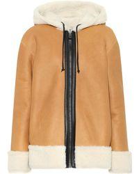 COACH - Reversible Shearling Jacket - Lyst