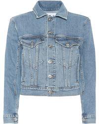Proenza Schouler - Stretch Cotton Denim Jacket - Lyst