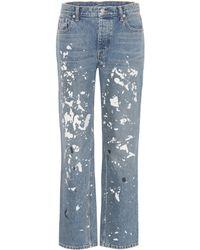 Helmut Lang - Painter Straight-leg Jeans - Lyst