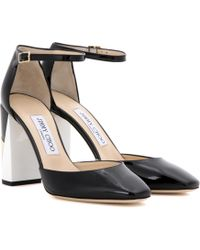 Jimmy Choo | Mabel 95 Patent Leather Court Shoes | Lyst