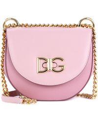 Dolce & Gabbana - Wifi Leather Shoulder Bag - Lyst