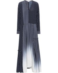 Stella McCartney - Dominique Printed Silk Dress - Lyst