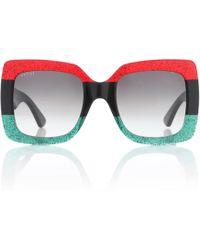 Gucci - Oversize Square-frame Acetate Sunglasses - Lyst