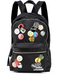 Marc Jacobs - Tres Pack Badges Medium Backpack - Lyst