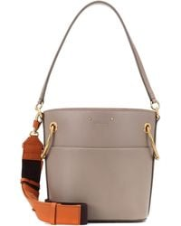 Chloé - Small Roy Leather Bucket Bag - Lyst