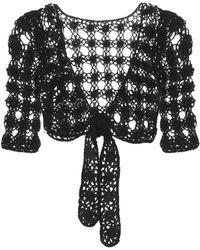 Anna Kosturova | Bella Crocheted Cotton Crop Top | Lyst