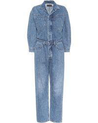 Citizens of Humanity - Amber Denim Jumpsuit - Lyst