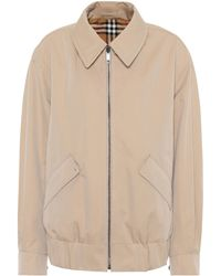 Burberry - Reversible Rainbow Checked Jacket - Lyst