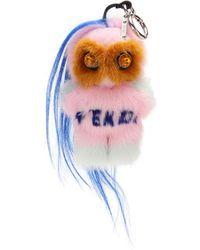 Fendi - Rumi Fur Charm - Lyst