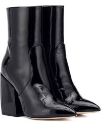 Petar Petrov - Solar Patent Leather Ankle Boots - Lyst